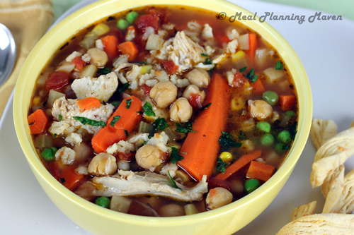 Turkey-Vegetable-Barley Soup